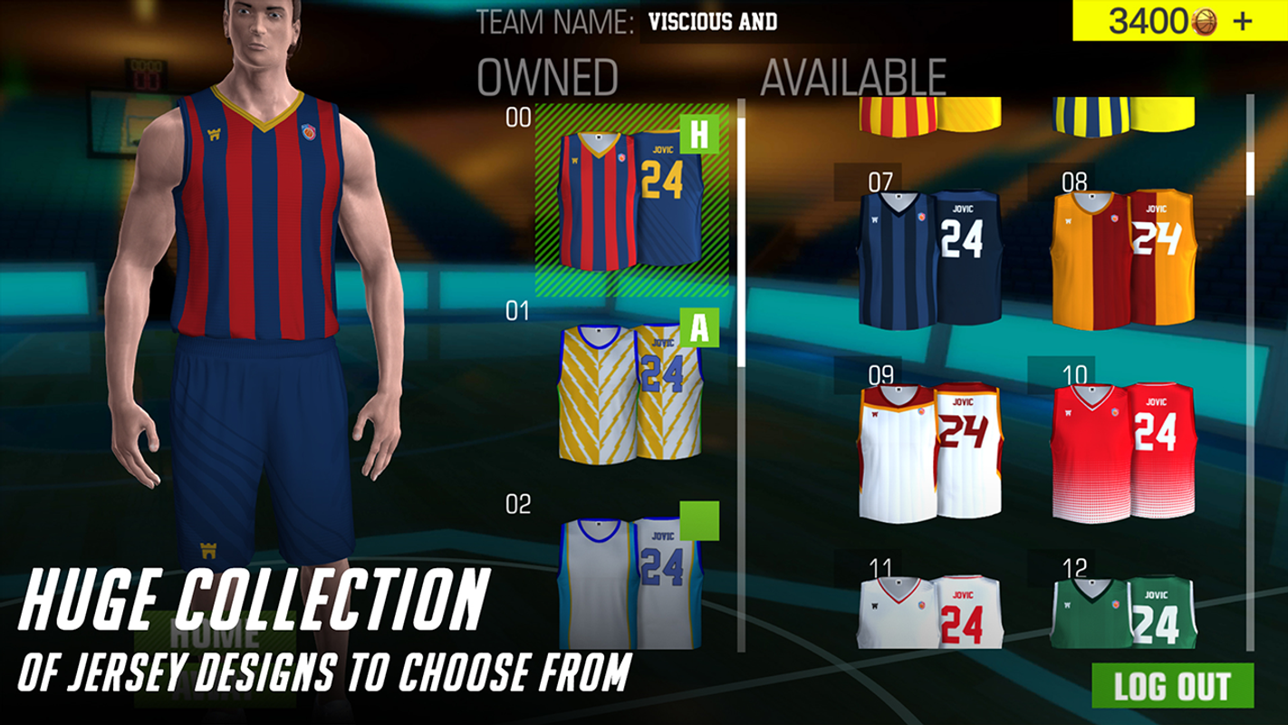 104b5589666 Basketball Jersey Editor - My Basketball Team for Android - APK Download
