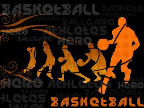 Basket Ball Wallpaper ART poster