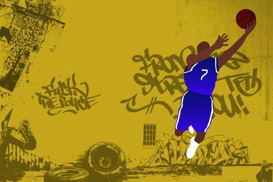 Basket Ball Wallpaper ART screenshot 1