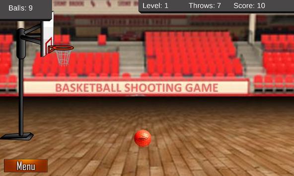 Basketball Shooting Game poster