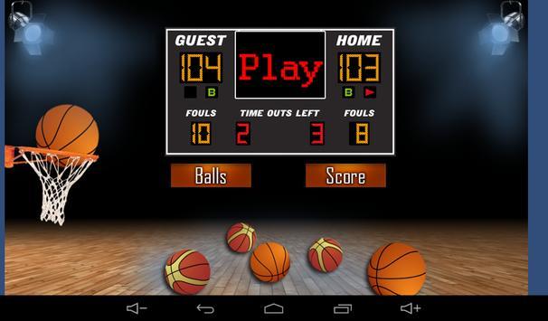 Basketball Shooting Game apk screenshot