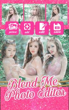 Blend Me Photo Editor poster