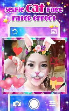 Selfie Cat Face Filter Photo Effect App apk screenshot