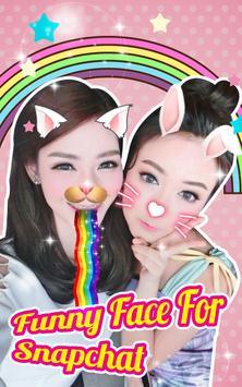 Funny Face Camera App poster