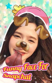 Funny Face Camera App apk screenshot