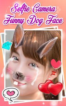 Selfie Camera Funny Dog Face apk screenshot
