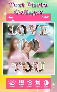 Text Photo Collages poster