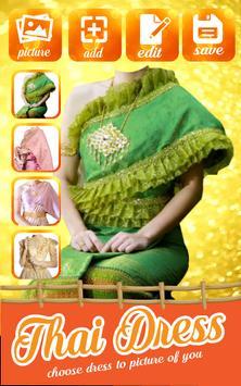 New Thai Dress Photo Montage screenshot 3