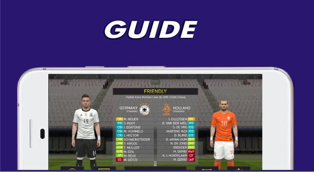 Guide PES 2017 screenshot 5