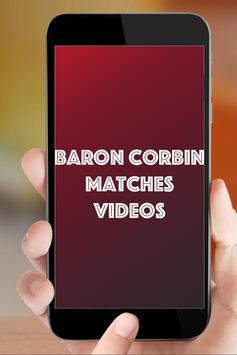 Baron Corbin Matches apk screenshot