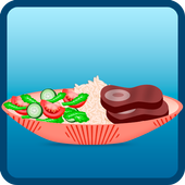 barbecue cooking games icon