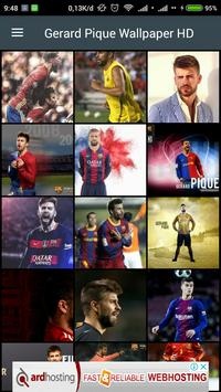 HD Gerard Pique Wallpaper poster