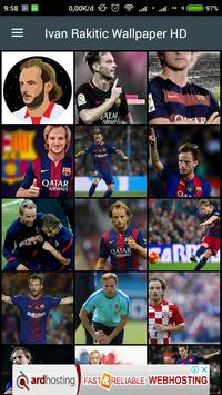 HD Ivan Rakitic Wallpaper poster