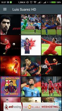 HD Luis Suarez Wallpaper poster