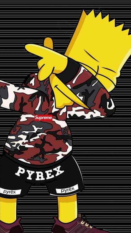 Wallpaper Simpsons Supreme Hd Babangrichie Org