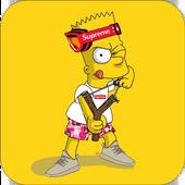 Bart Supreme Wallpaper icon