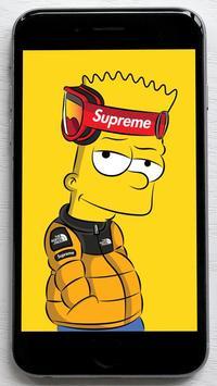 Bart Supreme Wallpaper poster