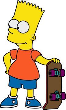 Bart Wallpaper poster