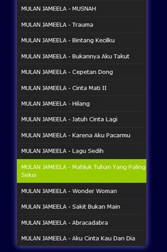 Lagu Mulan Jameela - Mp3 screenshot 1
