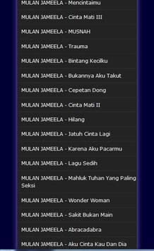 Lagu Mulan Jameela - Mp3 screenshot 2