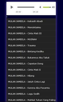 Lagu Mulan Jameela - Mp3 apk screenshot