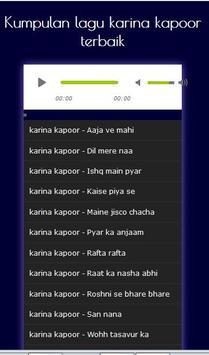 Kareena Kapoor Songs Hindi - Mp3 apk screenshot