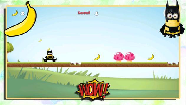 Batminion Skating Adventures apk screenshot