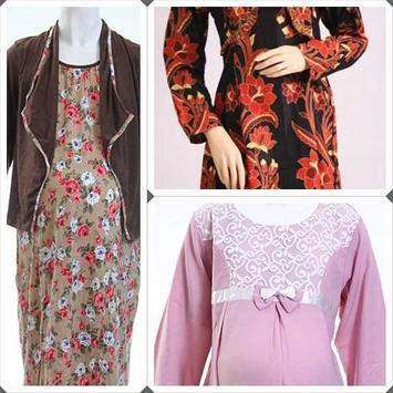 Batik Dresses Pregnant Women poster