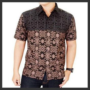 Batik Shirt Men poster