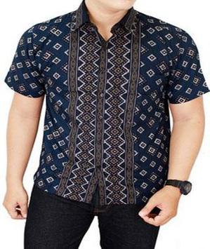 Batik Shirt Men apk screenshot