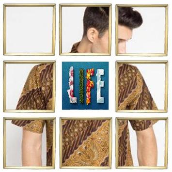 Batik Typical Man poster