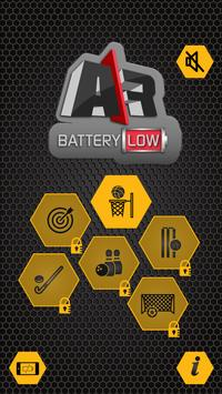 AR Battery Low poster