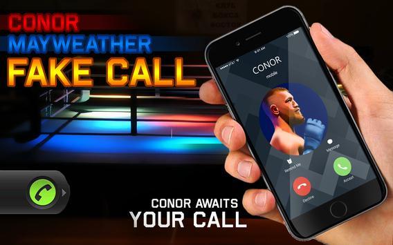 Conor Mayweather Fake Call screenshot 3
