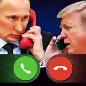 Fake Call Putin Trump icon
