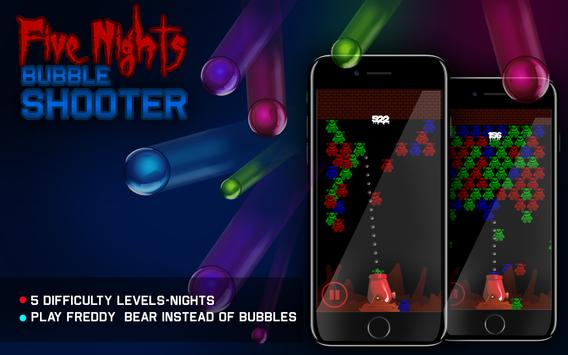 Five Nights Bubble Shooter poster
