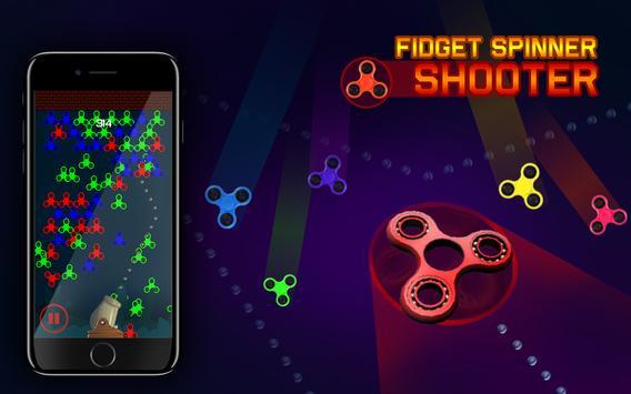 Fidget Spinner Shooter poster