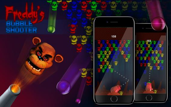 Freddy's Bubble Shooter poster