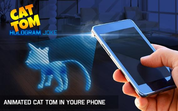 Hologram cat Tom apk screenshot