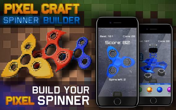 Pixel Craft Spinner Builder apk screenshot