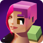 Pixel Scanner Craft Face icon