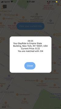 BayRide screenshot 4
