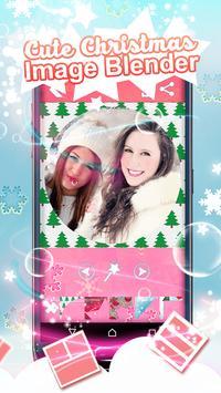 Cute Christmas Image Blender apk screenshot
