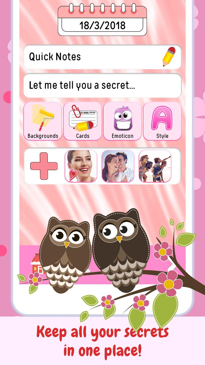 Cher Journal Mon Journal Intime Pour Fille Pour Android