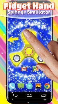 Fidget Hand Spinner Simulator poster
