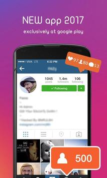 👑Insta-King ! Get Free Likes & Followers Prank screenshot 3