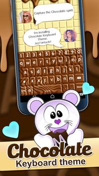 Chocolate Keyboard Theme screenshot 2