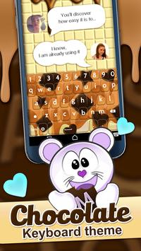 Chocolate Keyboard Theme screenshot 3