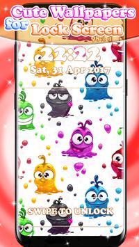 Cute Wallpapers for Lock Screen apk screenshot