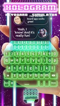 Hologram Keyboard Simulator apk screenshot