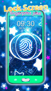 Lock Screen – Fingerprint Joke poster